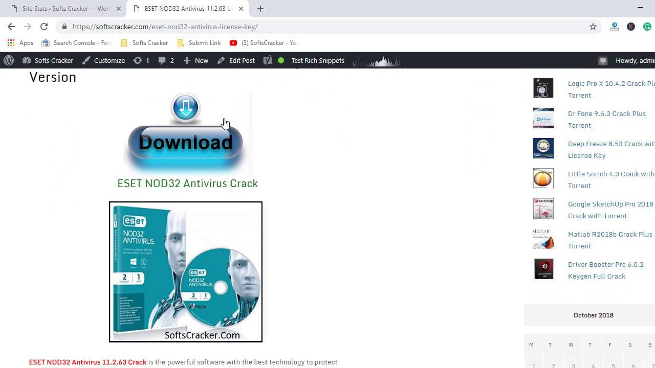 Eset Nod32 Antivirus 9 License Key 2019 - authenticgenerous